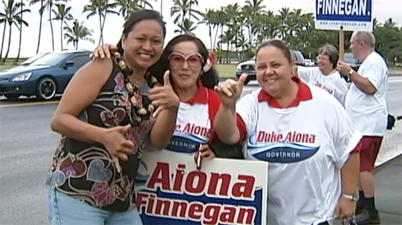 VIDEO: Democrats (and GOP) gather at Hilo Grand Rally