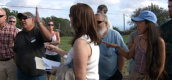 VIDEO: Site visit, hearing for controversial Kamaoa Road in Ka'u