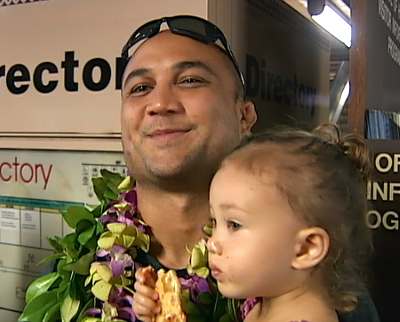 VIDEO: Victorious BJ Penn returns to Hilo hometown