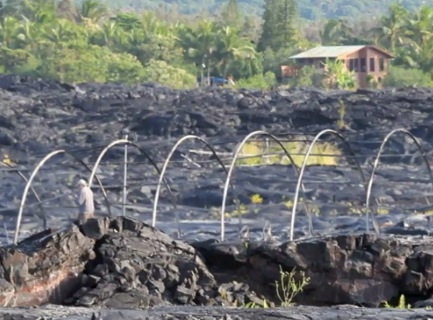 VIDEO: Lava burns third Kalapana home in six months