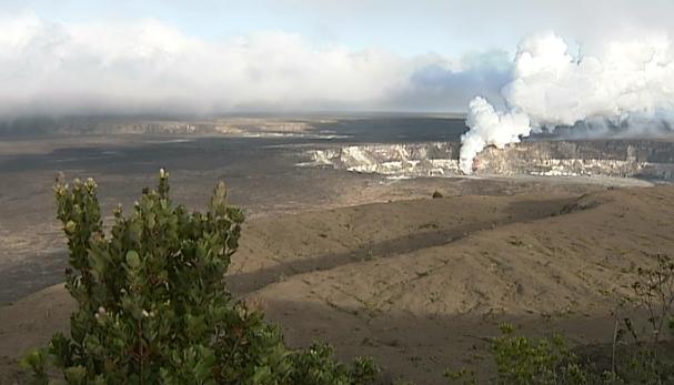 Volcano Awareness Month talk on Kilauea summit eruption