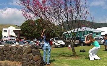 VIDEO: Kupuna honored at Waimea Cherry Blossom Fest