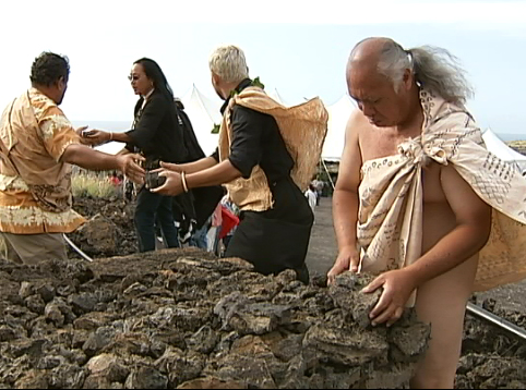 VIDEO: Road blessing paves way for Kona HCC-Palamanui campus