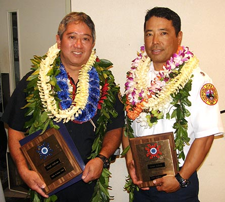 VIDEO: Police Officer, Firefighter of the Year honored in Hilo