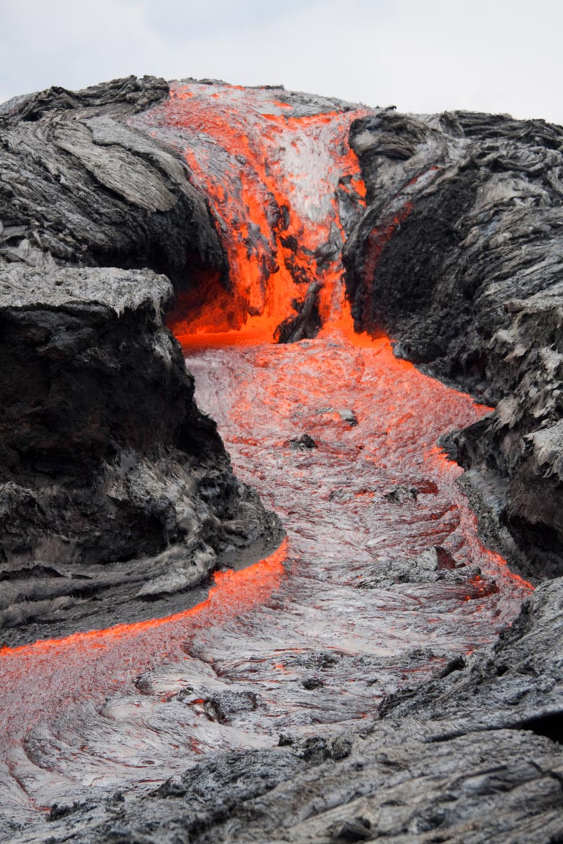 How Fast Can Lava Travel