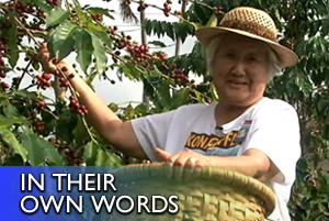 VIDEO: Alfreida Fujita, growing up in Kona coffee culture