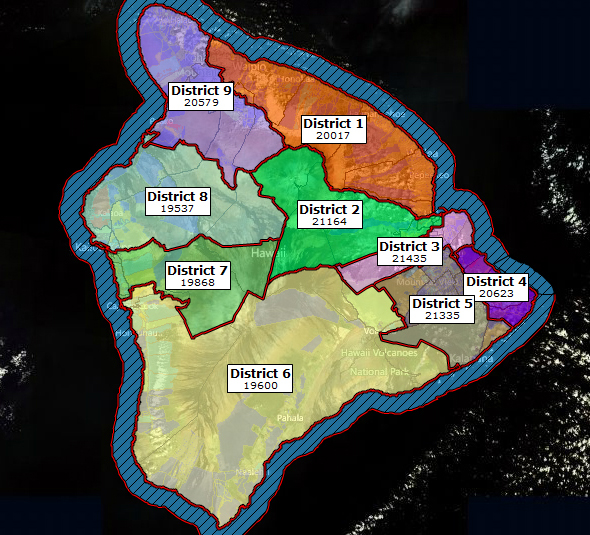 Hawaii County District Map Gallery