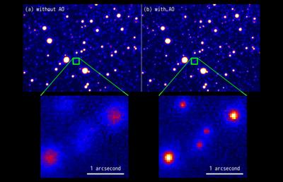 Subaru Telescope: Pioneering adaptive optics for optical observations