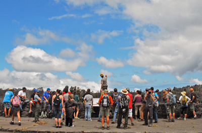 Hawaii Volcanoes park reopens Keanakakoi Crater to hikers