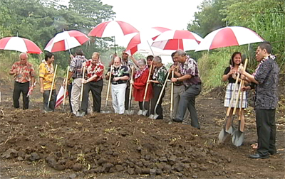VIDEO: UH-Hilo breaks ground on University Village Phase I