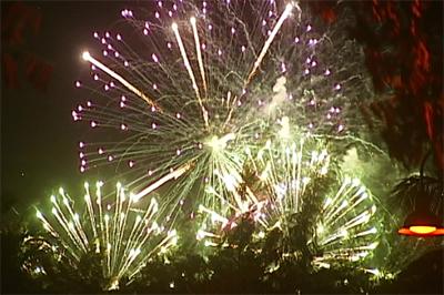 Fireworks over Waikoloa