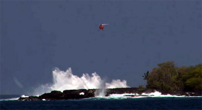VIDEO: Waves sweep New York boy to sea in Hawaii, another injured