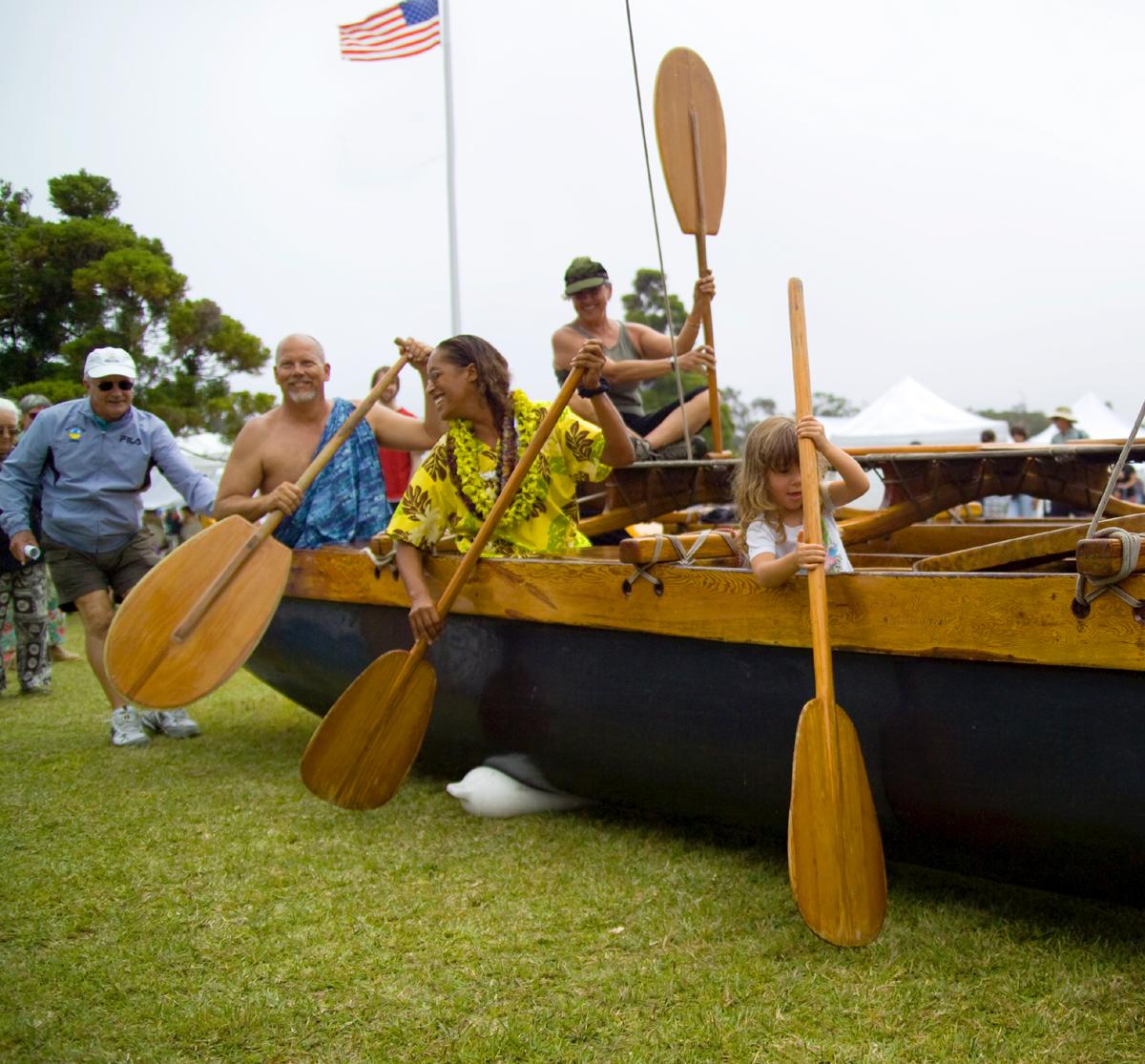 NPS photo of canoe by Park Ranger Jay Robinson