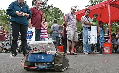 NASA rovers on display at Imiloa in Hilo