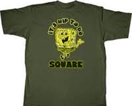 Police say a body found at Higashihara park was wearing a blue SpongeBob T-shirt somewhat like the one depicted above.