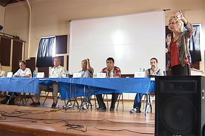 Candidates talk pakalolo