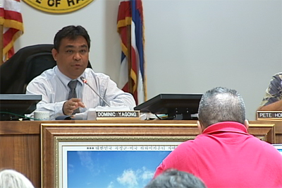 Council Chair Yagong questions Civil Defense head Fuata