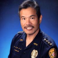 Police Chief Kubojiri, from Hawaii County Police Dept.
