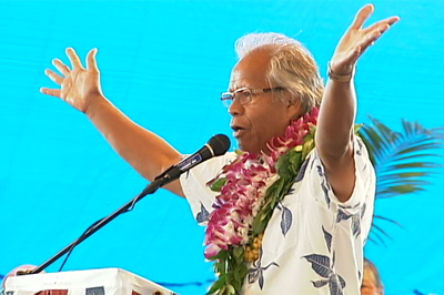 VIDEO: Hilo Grand Rally highlights, Democrats take aim at Lingle
