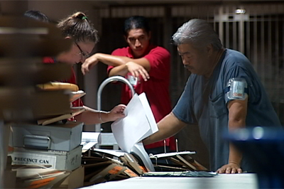 Ballots prepared in Hilo for delivery to polling locations