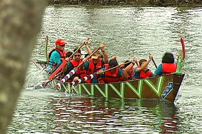 Haari boat races in Wailoa