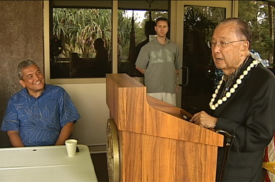 VIDEO: Mahalo, Senator! Got another $100 million?