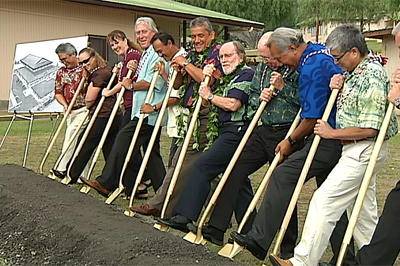 VIDEO: Ka'u Gym and Shelter breaks ground in Pahala