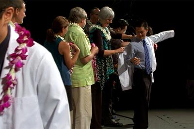 VIDEO: 2012 UH-Hilo College of Pharmacy white coat ceremony