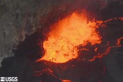 VIDEO: Kilauea Volcano lava lake reaches highest level