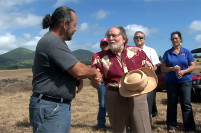 VIDEO: Governor tours Waimea Nui, Veteran to Farmer initiative