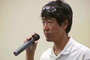 Guy Toyama talks in Kona