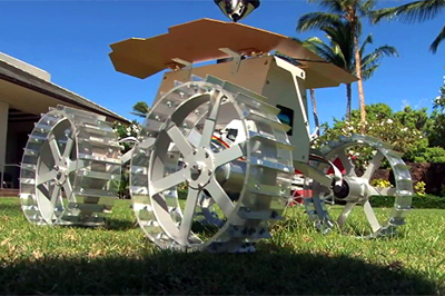 Rover in the running for the Google Lunar-X Prize