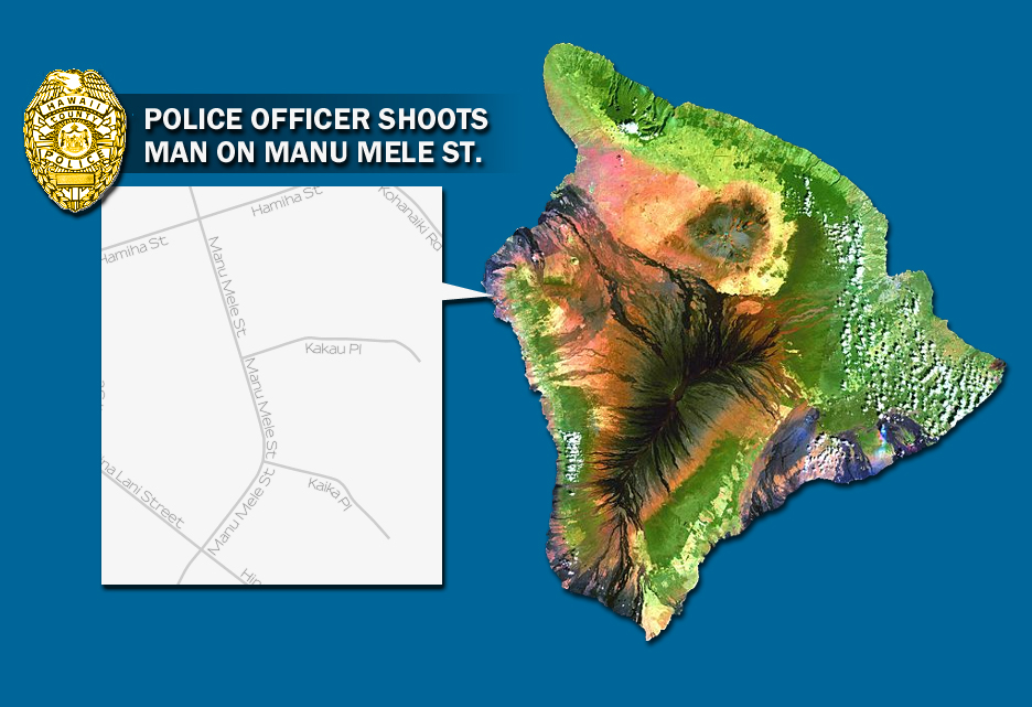 Kona Police Officer Investigated for Non-fatal Shooting on Manu Mele St.