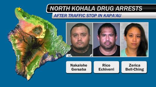 Kapaau arrests