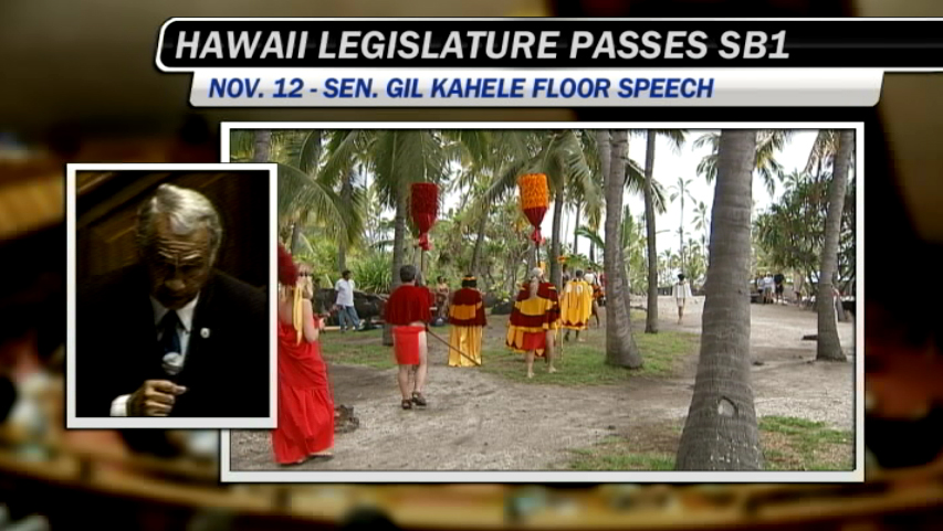 VIDEO: Hawaiian history and homosexuality – Sen. Gil Kahele