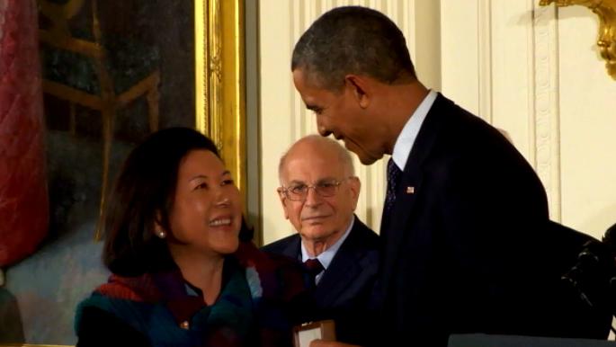 VIDEO: Sen. Inouye awarded Presidential Medal of Freedom