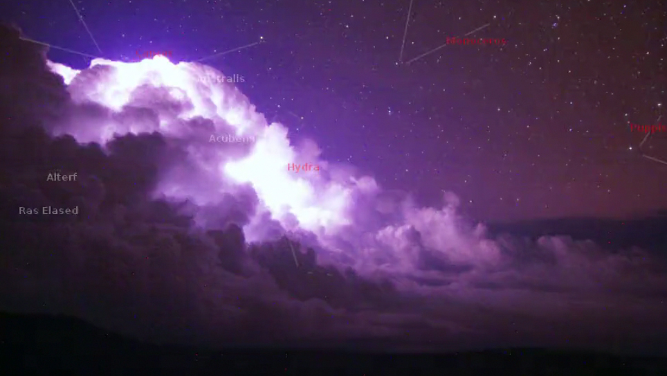 VIDEO: Lightning explodes over East Hawaii on cloudcam