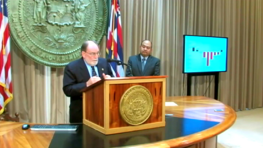 VIDEO: Governor touts CAFR, fiscal health of Hawaii
