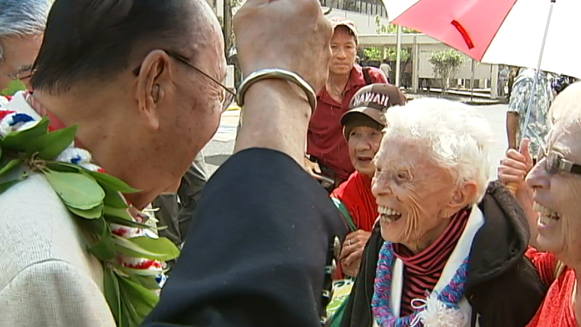 VIDEO: Late Saramae Landers, 107, remembered in Senate