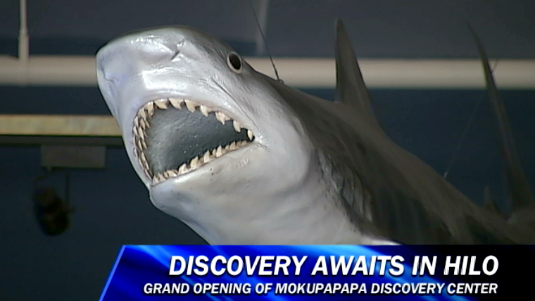 VIDEO: New Mokupapapa Discovery Center opens