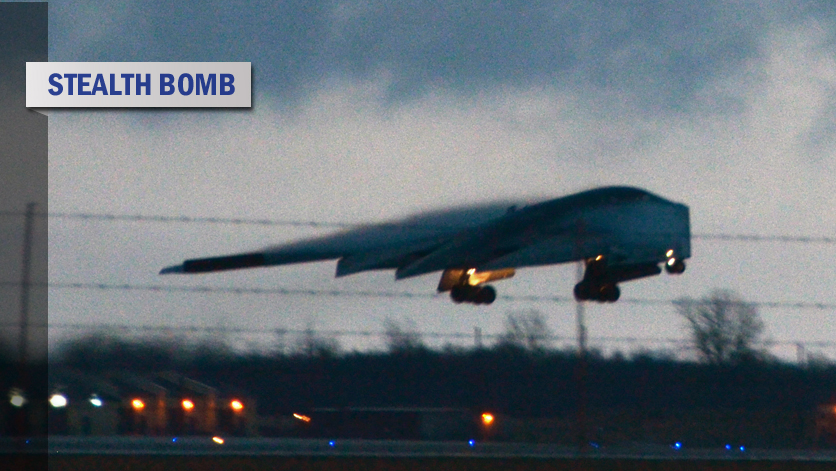 Air Force flies 8,000 miles non-stop to test-bomb Pohakuloa
