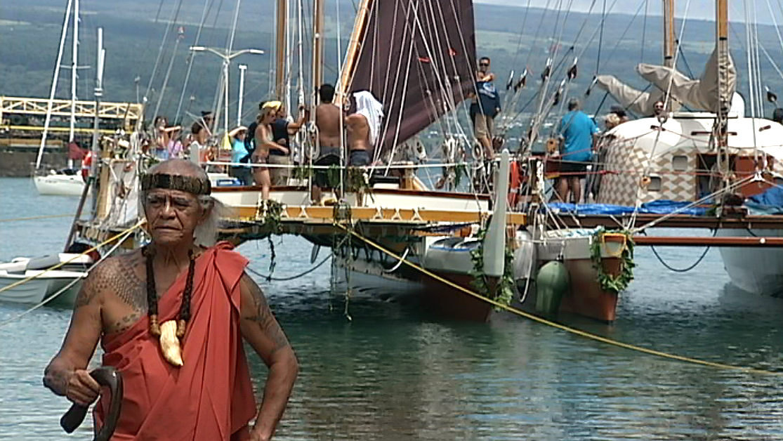 VIDEO: Hilo celebrates Hokulea before worldwide voyage