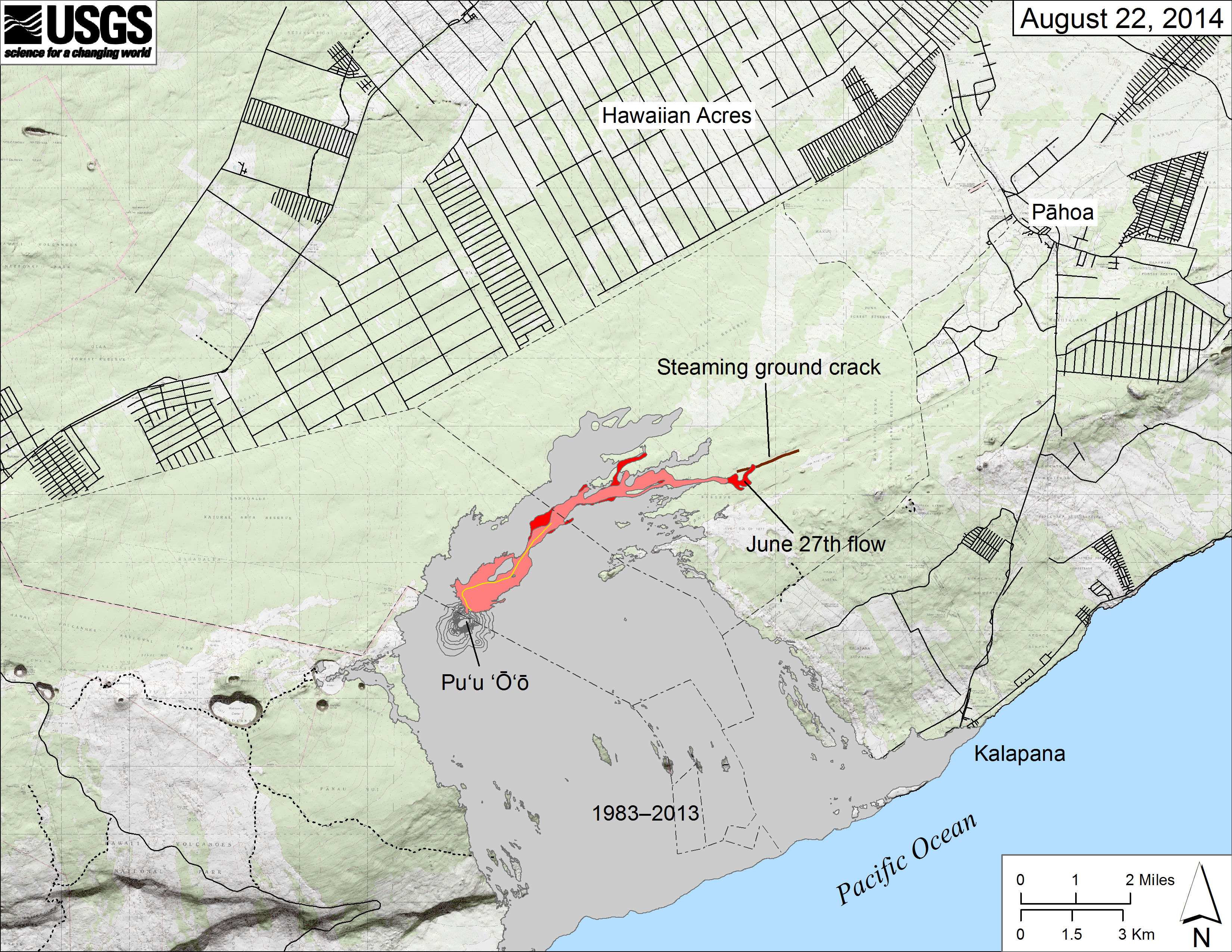 Latest Hawaii Lava Flow A Potential Concern