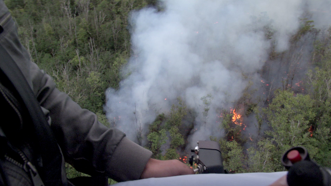 Video Shows Size Of Lava Flow Approaching Pahoa