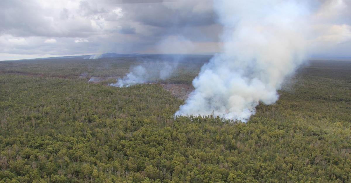 VIDEO: Morning Lava Flow Update – Thursday, September 11