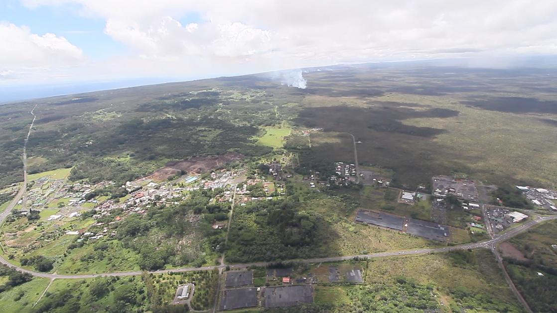 Morning Lava Flow Update – Wednesday, Sept. 17