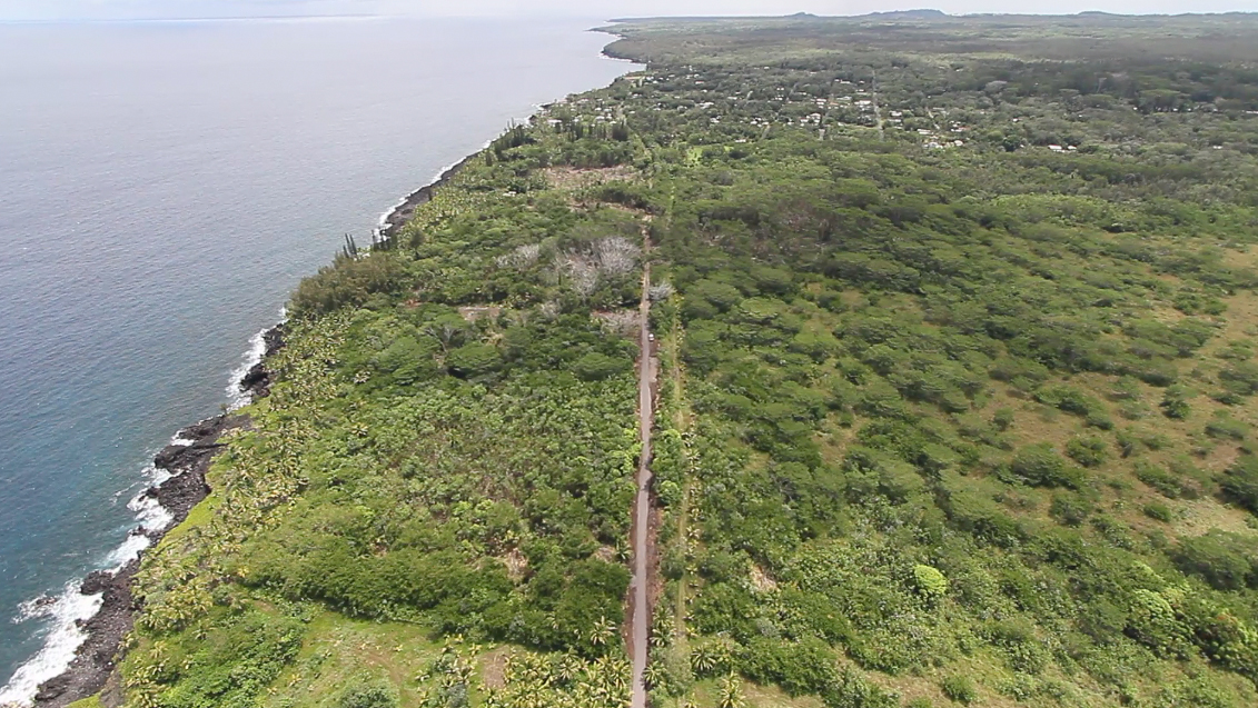 VIDEO: Puna's Emergency Road Progress Seen From Above