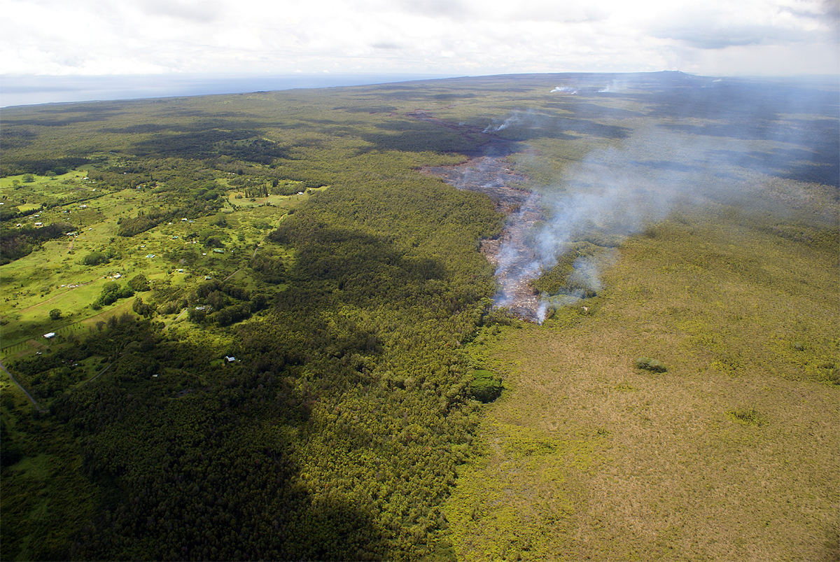 Lava Update: USGS Revises Projections Based on Slower Advance