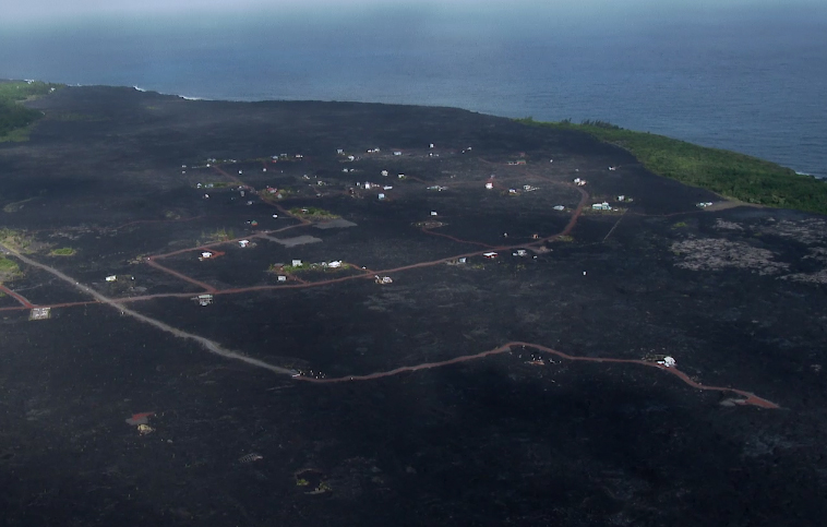 Kalapana Lava Viewing Area Closed