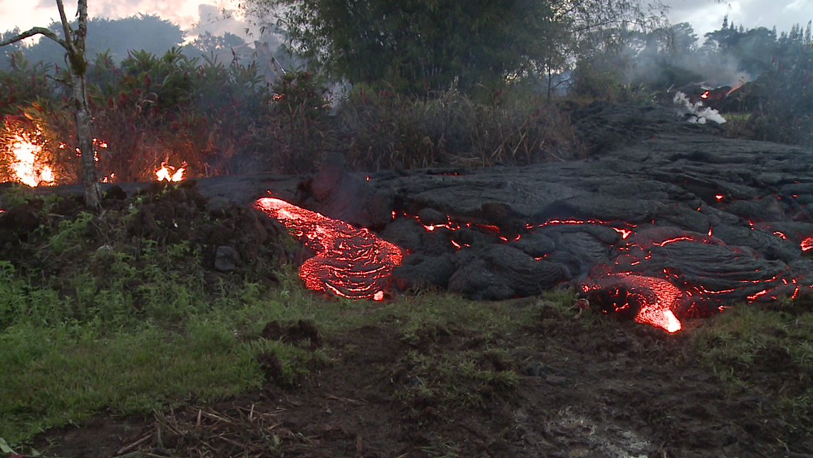 Lava Flow Update Hawaii Island